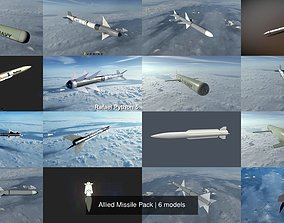Allied Missile Pack 3D