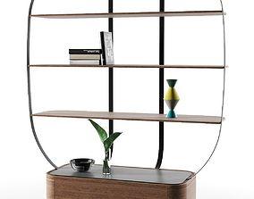 shelves Klec L Bookcase 3D