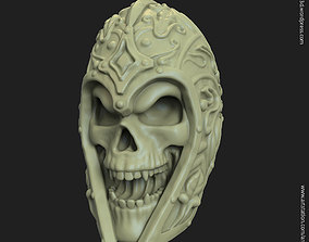3D printable model Warrior skull vol1 pendant
