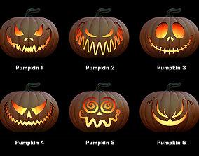 Pumpkins for Halloween 3D printable model