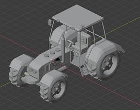 Tractor machine 3D