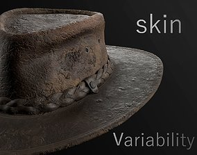 leather hat 3D asset