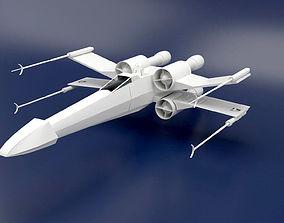 3D printable model T65B XWING STARFIGHTER R2D2