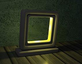 desktop lamp 3D printable model