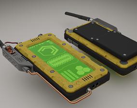 Walkie-talkie 3D model VR / AR ready