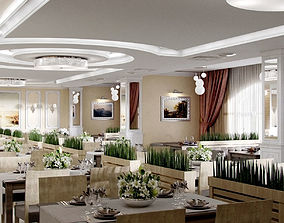 Banqueting hall 3D model