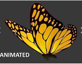 3D Flying Butterfly