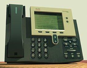 3D model Phone cisco 7942
