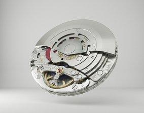 Rolex Watch movement -3135- 3D model tool