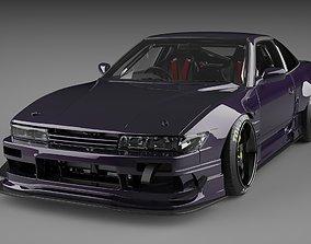 Nissan 180SX RB Drift nissan 3D model