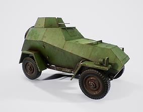BA-64 - Soviet Scout Car 3D model