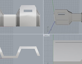INFANTRY SHIELD LINE 3D printable model