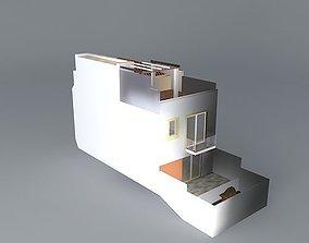 T2 Townhouse in Tavira Portugal 3D