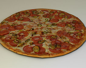 3D model delivery Pizza