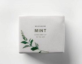 soap 3D model Mint Duo Soap