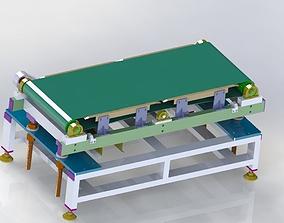 3D Height adjustable conveyor