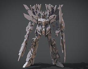 RX-0 Unicorn Gundam 02 Banshee Norn 3D printable model