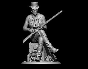 3D printable model ancle sam