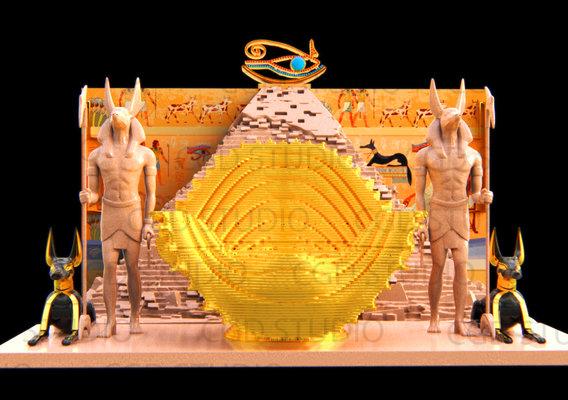 Egyptian King Throne