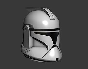 Phase 1 Clone Trooper Cosplay Helmet 3D print model