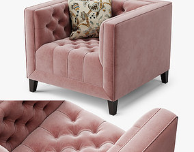 3D model Armchair Pinkslip A