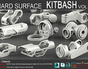 3D model Hard Surface KitBash Vol 6
