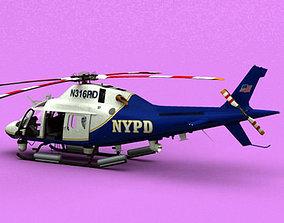 3D model AW-119 Koala NYPD
