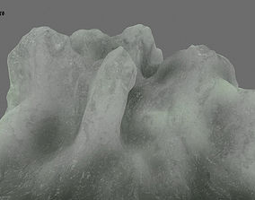Ice 3D model VR / AR ready frozen