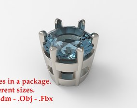Jewelry Prong Head Set Package 193 3D printable model