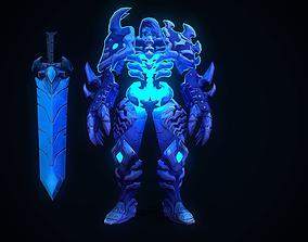 3D model Handpainted stylized boss