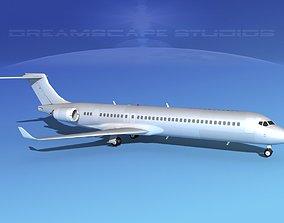 Comac ARJ21-900 Bare Metal 3D