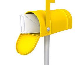 Mailbox 01 3D model