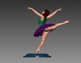 Ballerina 3D print model dancer