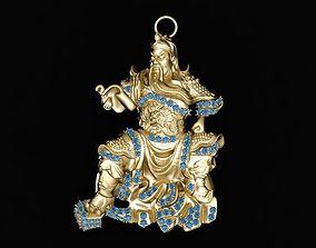 583 the lost bladesman pendant 3D print model