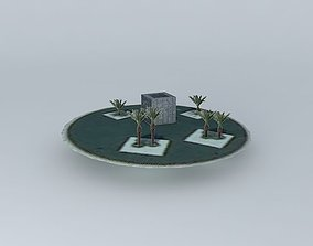 Round residual cube 3D model