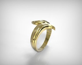3D printable model Jewelry Golden Ring