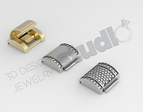 Luxury clasp deisgn for chains 3d model clasp-jewelry