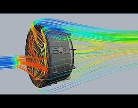 Concave Heatshield Spacecapsule Concept 3D print model