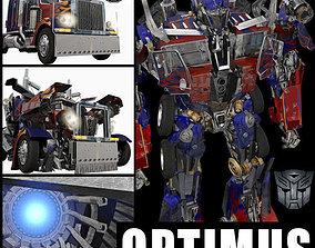 3D Optimus Prime Alive Transformer
