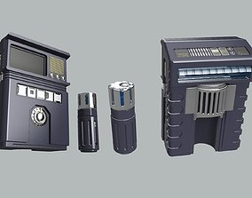 3D printable model Discovery Concept Tricorder UPGRADE KIT