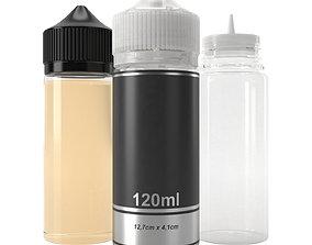 bottle 120ml 3D model