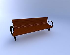 3D model Bench-Park1