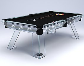 pool 3D model Billiard table