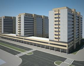 3D Apartment Building 01