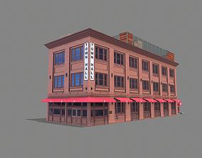 342 Spear Street Building San 3D asset