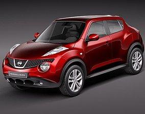 3D Nissan Juke 2011 nissan-juke