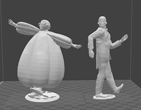 3D printable model 2 Woody Allen toy soldiers from the 1