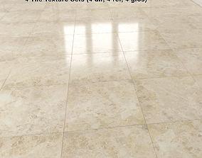 3D Beige Marble Tiles Pack 2