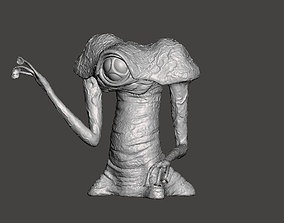 3D printable model The WAR OF THE WORLDS classic ALIEN toy