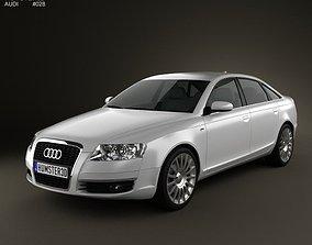 3D Audi A6 Saloon 2005